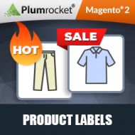 Magento 2 Product Labels Extension