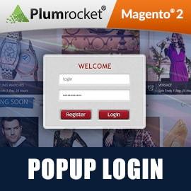 Magento 2 Popup Login Extension