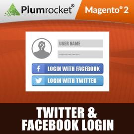Twitter & Facebook Login Extensin for Magento 2