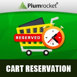 Cart Reservation Extension for Magento 1