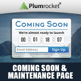 Coming Soon & Maintenance Page Extension for Magento 1