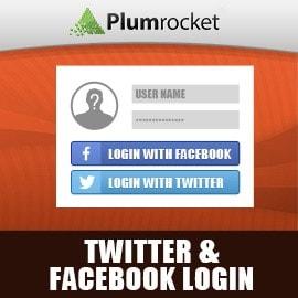 Magento Twitter & Facebook Login Extension
