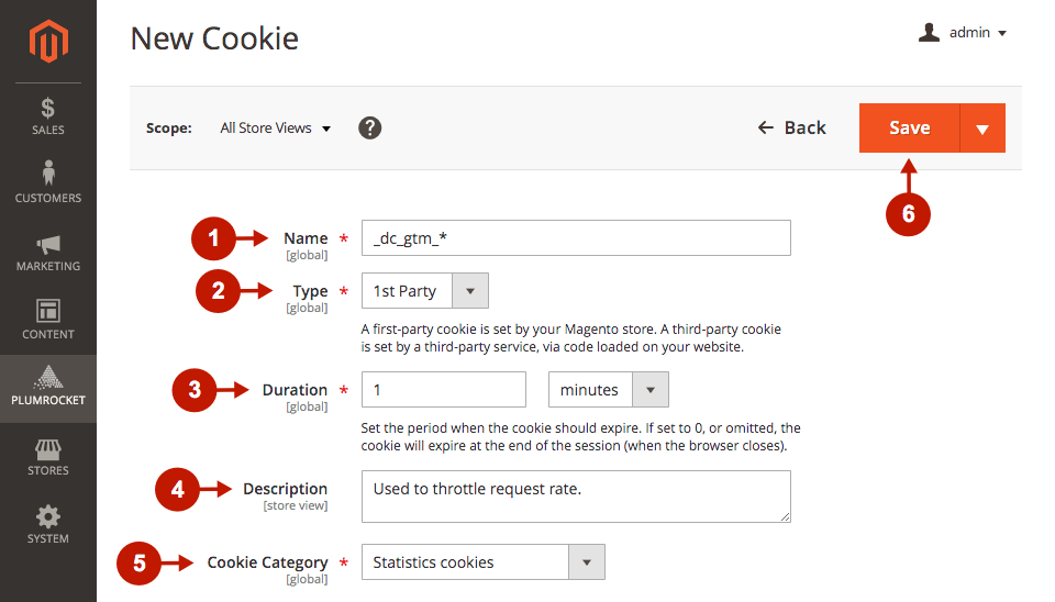 magento 2 cookie consent extension adding new cookies