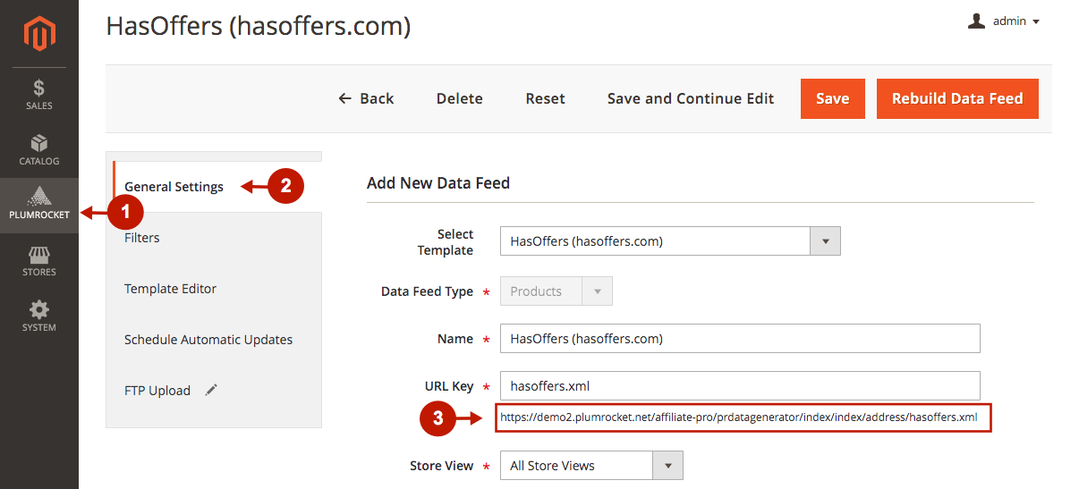 magento 2 data feed generator extension download data feed file