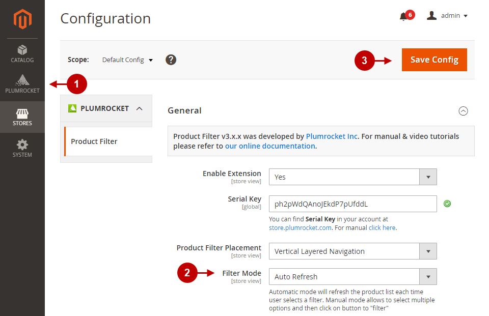Magento 2 Layered Navigation and Product Filter extension - configuring Filter Mode option