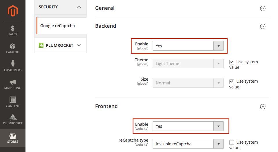 magento 2 newsletter popup extension goole recatcha configuration 2