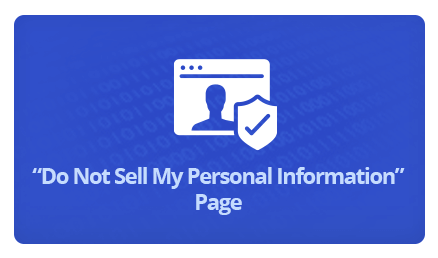 Dont sell my personal information