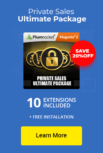 Magento 2 Private Sales Ultimate Package