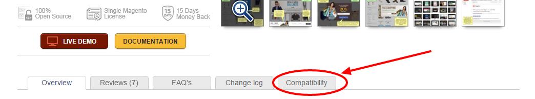 Magento Compatibility