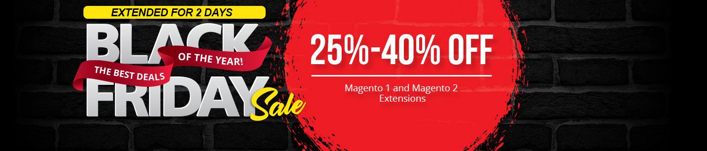 Black Friday! Save 25%-40% OFF