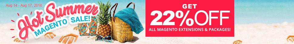 Hot Summer Magento Sale!
