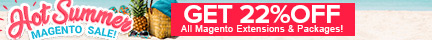 Summer Sale 2018 Magento Extentions Shop