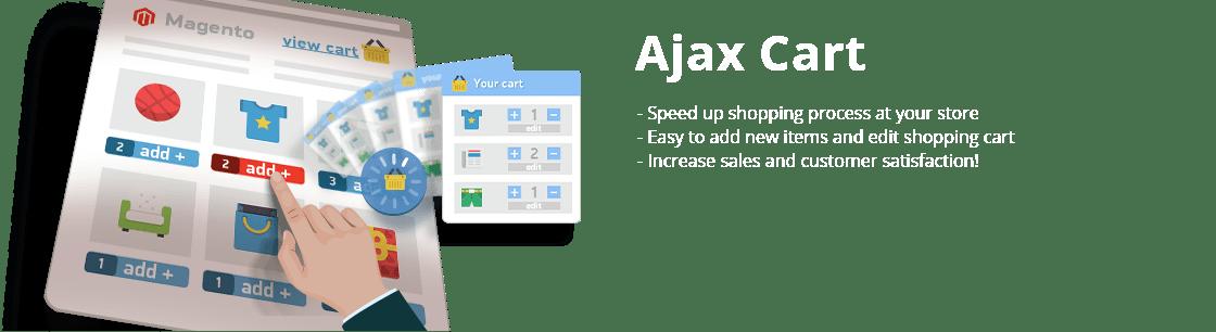 Ajax Cart Extension for Magento