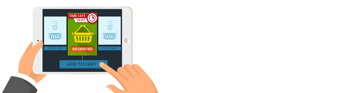 Cart Reservation Extension for Magento