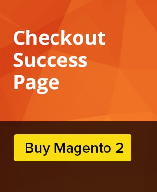 Checkout Success Page Extension for Magento