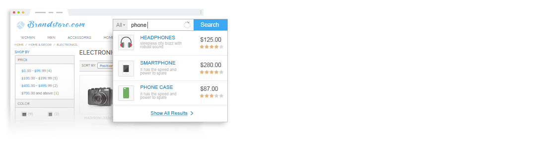 Search Autocomplete and Suggest Extension for Magento