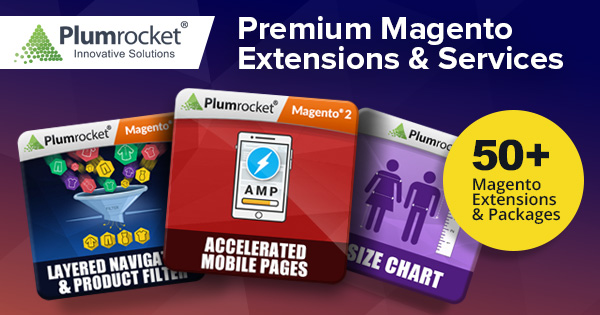 Plumrocket Inc Magento Store - Premium Magento Extensions and High