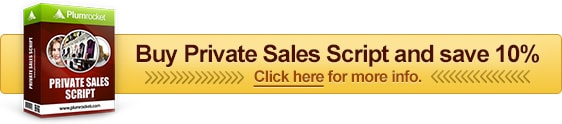 Private Sales Script