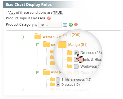 60eeb5f5a1 Magento Size Chart Extension   Magento Size Chart Popup