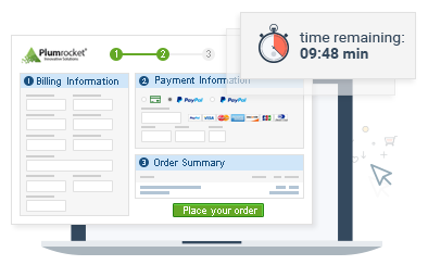 Magento Checkout Page Timer