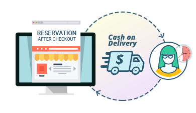 Cash on Delivery Offline Reservation