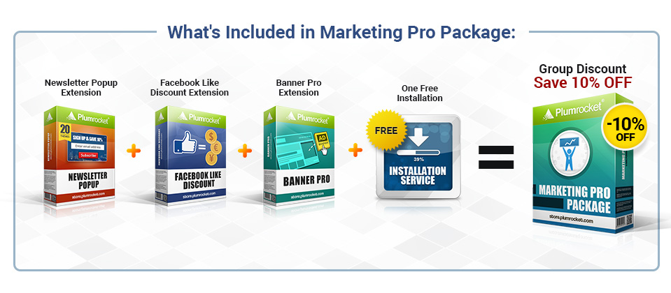What's Included in Marketing Pro Package: