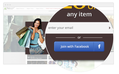 Facebook Email Address Collection - Newsletter Popup Magento 2 Extension