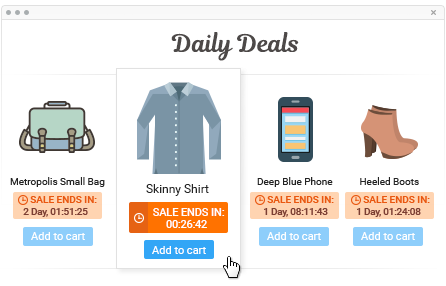 Magento Daily Deal