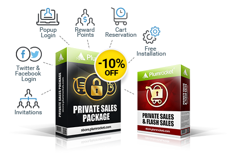 Upgrade to Private Sales Package