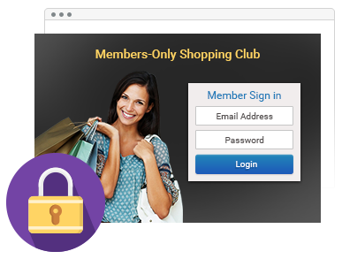 Private Sales & Members-Only Shopping Club