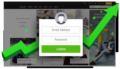Increase Membership Sign-ups with Popup Login