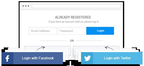 Social Login & Registration