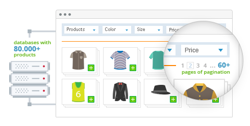 Designed for both Large & Small Magento Databasess