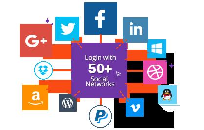 Over 50 Social Login Networks Supported! - Magento 2 Social Login Pro