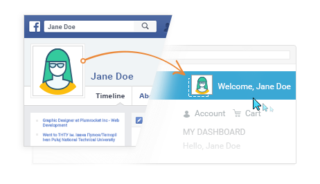 Personalize User Experience with Customer Photo - Magento 2 Social Login Pro