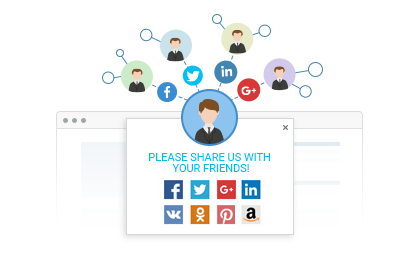 Let Customers Socially Share your Website